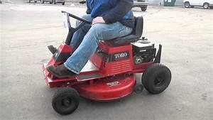 Toro Wheel Horse 8-32 Riding Lawn Mower
