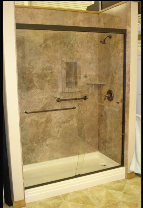 What Are Shower Walls Made Of - decorative interior shower tub wall panels this shower