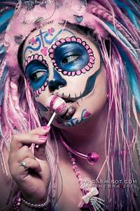 sugar skull girl on Tumblr