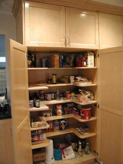 pantry  shaped  adjustable pantry interior