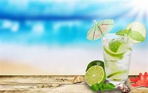 Mojito Lime Glass Hd Widescreen Desktop Wallpaper ...