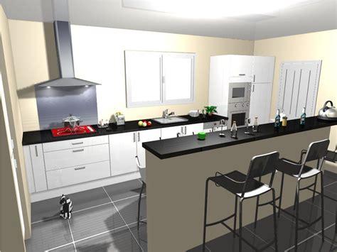 idée carrelage noir avec cuisine blanc laquée 8 messages