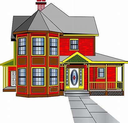 Clipart Clip Driveway Bungalow Houses Rent Rustic