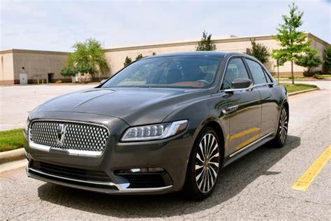 black label  lincoln continental auto trends magazine