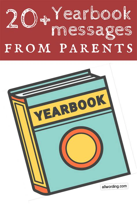 sample yearbook messages  parents  allwording