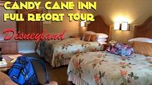 Candy Cane Inn Disneyland / Anaheim - YouTube