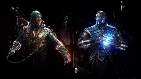 Sub Zero Vs Scorpion Mortal Kombat Wallpapers Hd