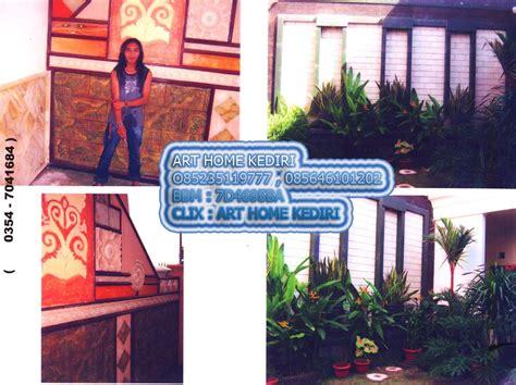 pembuatan taman  relief art home kediri bekerjasama dg