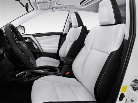 Rav4 How Many Seats by Image 2017 Toyota Rav4 Xle Fwd Natl Front Seats Size