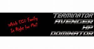 Choosing  Terminator  Avenger  Hp Or Dominator