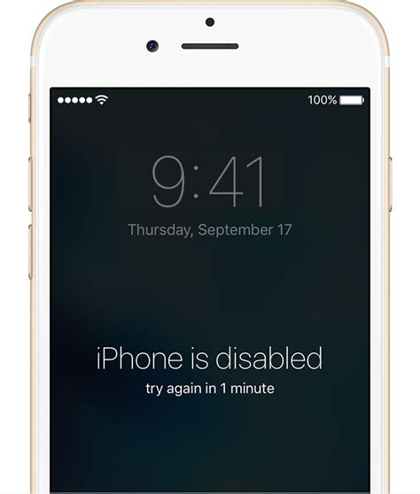 how to get into a disabled iphone what to do if you ve forgotten your iphone passcode