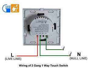 Super Thin Tempered Glass Panel Timer Touch Light Switches
