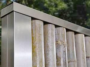 Sichtschutz Bambus Edelstahl : va edelstahl bambuszaun als stabiler sicherheitszaun ~ Markanthonyermac.com Haus und Dekorationen