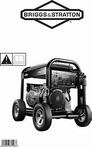 Briggs  U0026 Stratton Portable Generator Pro4000 User Guide