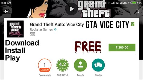 install gta vice city game