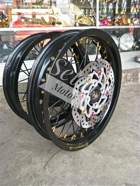 Modif Mio Soul Tapak Lebar by Jual Velg Sepaket Ring 14 Tapak Lebar Yamaha Xride Mio