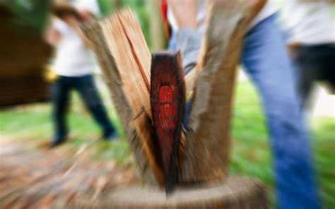simple pleasure  rituals  chopping firewood
