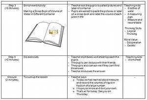 teaching and learning mathematics primary school lesson With primary school lesson plan template