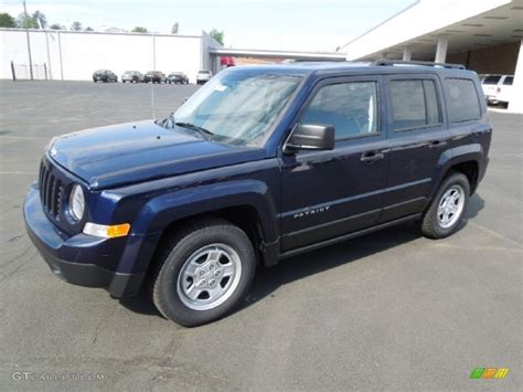 patriot jeep blue 2012 true blue pearl jeep patriot sport 62757926