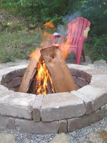 Above Ground Outdoor Fire Pit