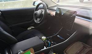 Tesla Model 3 controversial interior confirmed in latest leaked images | Cars | Life & Style ...