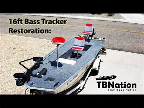 Aluminum Bass Boat Rebuild by Part 2 Bass Tracker Boat Restoration Build Specifics