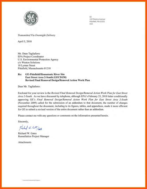 Writing Business Letter With Attachment 28 Images Sle
