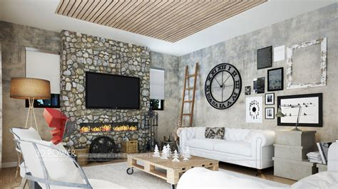 Interior Living Room Designs by 3d Interior Design Rendering Services Bungalow Home