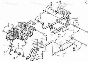 Arctic Cat Atv 2002 Oem Parts Diagram For Engine And