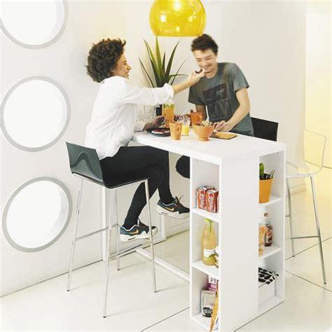 table haute cuisine bois les 25 meilleures idées de la catégorie table haute bar