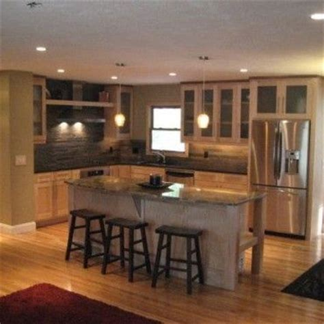 raised ranch style  kitchen remodel ranch house