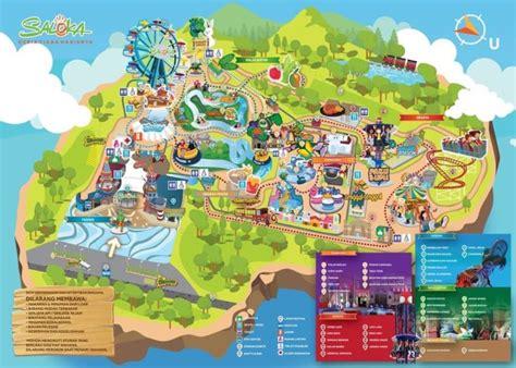 peta kawasan wisata ancol peta wisata indonesia  luar