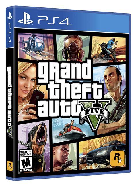 Espalhe o caos na cidade. Videojuego PS4 Grand Theft Auto V Ktronix Tienda Online