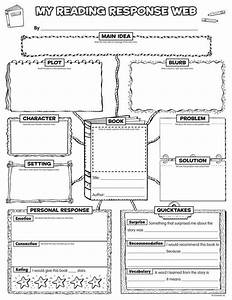 Graphic Organizer Posters  Reading Response  Grades 3 U20136