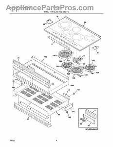 Parts For Frigidaire Plec36s9ecc  Maintop Parts