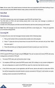 Grandstream Networks Ht813 Analog Telephone Adaptors User