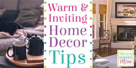 essential warm and inviting home decor tips and tricks
