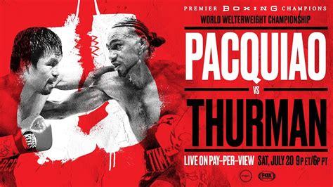 Boxing Tonight On Fox - ImageFootball
