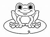 Frog Coloring Frogs Coloriage Children Grenouille Printable Outline Amphibia Justcolor Enfants Simple Malvorlagen Imprimer Grenouilles Adults Cartoon Zeichnung Frosch Craft sketch template