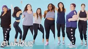 Women Sizes 0 Through 30 Talk About Going To The Gym