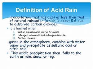 Environmental Chemistry: Acid Rain - ppt video online download