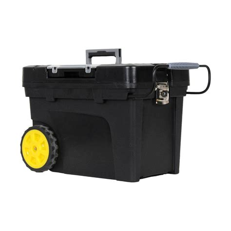 Home Depot Tool Chest On Wheels by Stalwart Stackable Mobile Tool Box With Wheels 75 3042