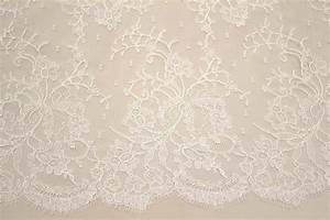 French Lace Ivory - Sold Out - Tessuti Fabrics - Online ...