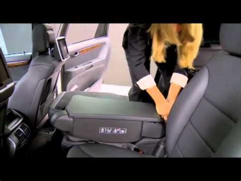 mercedes benz instructional video   fold  rear