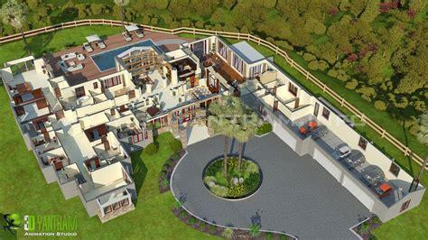 Beautiful Multi Family 3d Floorplan Developed By Yantram