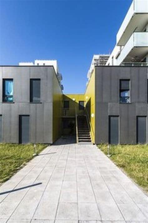 porte de valenciennes lille construction de 43 logements collectifs porte de valenciennes 224 lille par escudie fermaut
