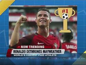 NOW TRENDING: Cristiano Ronaldo highest-paid - One News ...