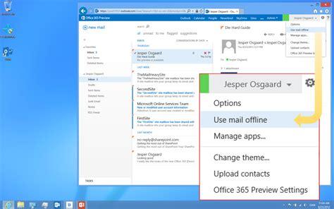 Work Offline In Outlook Web App