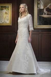 simple modest wedding dress with lace sleeves ipunya With modest lace wedding dresses