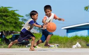 Happy kids playing basketball | Little Happiness of ...